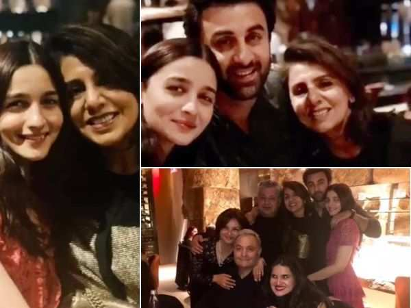 Alia Bhatt's latest pictures with Ranbir Kapoor and his family spells love