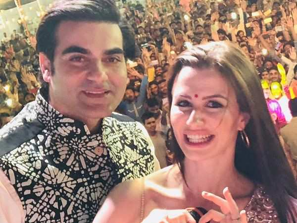 Just in! Arbaaz Khan accepts being in a relationship with Giorgia Adriani
