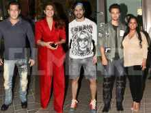 Salman Khan, Jacqueline Fernandez, Varun Dhawan and more party together