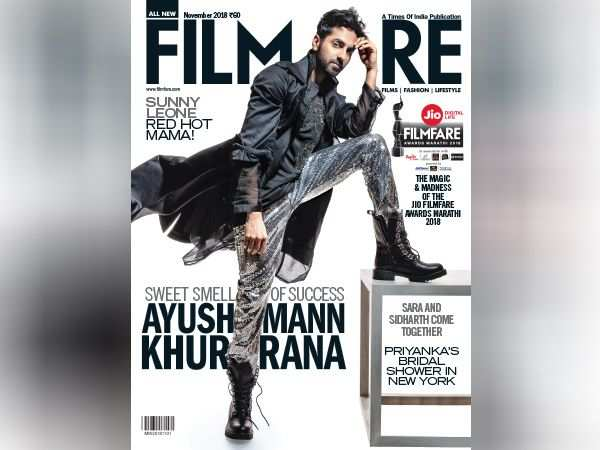 Presenting Ayushmann Khurrana on the latest cover of Filmfare