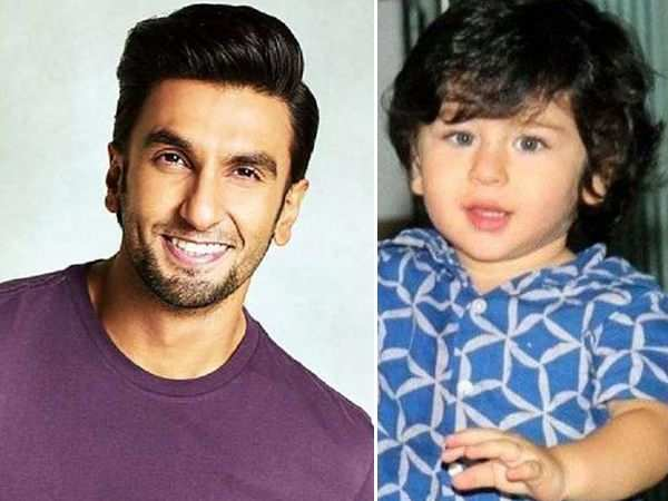 Ranveer Singh wants to play Taimur Ali Khan's father?
