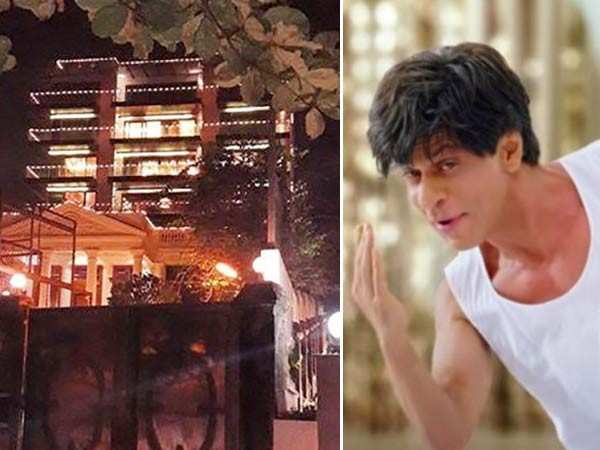 Mannat gets decked up as Shah Rukh Khan gears for double celebration