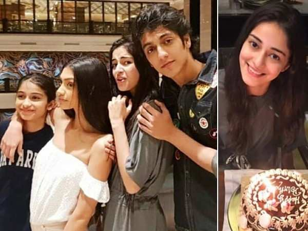 Inside Pictures: Ananya Panday's birthday celebrations