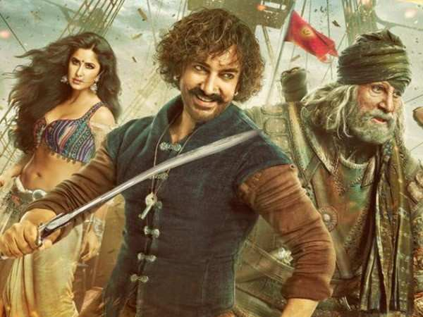 Advance bookings for Thugs Of Hindostan to begin from November 3