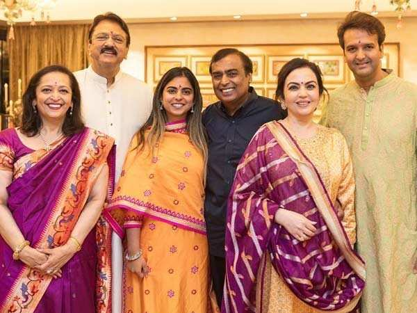 It's official! Isha Ambani and Anand Piramal to tie the knot on December 12