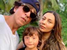 Gauri Khan celebrates her birthday with AbRam and Shah Rukh Khan