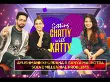 Ayushmann Khurrana and Sanya Malhotra solve Millennial Problems