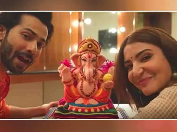 Anushka Sharma and Varun Dhawan celebrate Ganesh Chaturthi in a new way