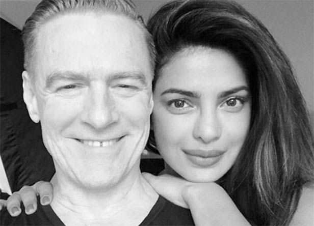 Bryan Adams on priyanka and nick