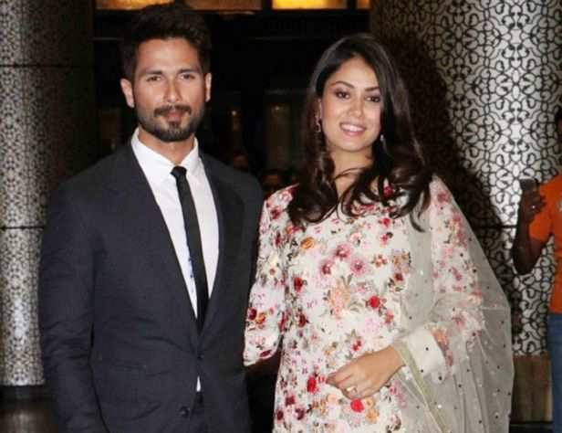Pankaj and Neelima with Shahid