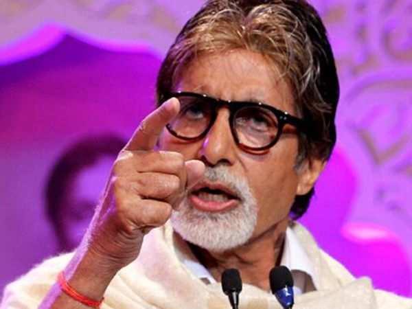 """I face abuse and vulgarity towards me."" - Amitabh Bachchan"