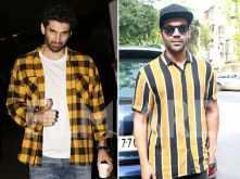Rajkummar Rao and Aditya Roy Kapur are acing yellow in their off-duty looks