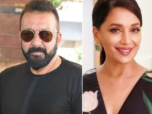 Sanjay Dutt and Madhuri Dixit Nene shoot for scenes together in Kalank
