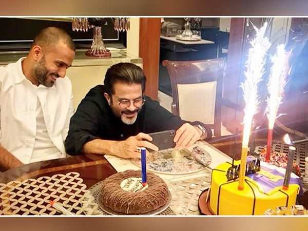Anil Kapoor is all praise for son-in-law Anand Ahuja, calls him his friend