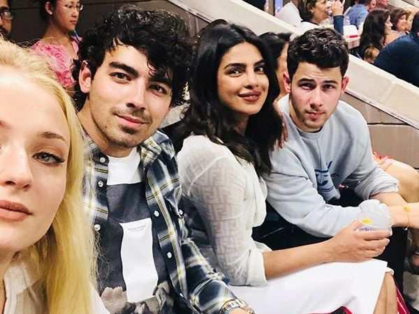 Priyanka Chopra - Nick Jonas's double date with Joe Jonas & Sophie Turner