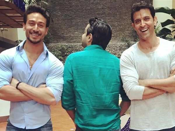 Tiger Shroff and Hrithik Roshan begin shooting for their venture with YRF