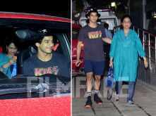 Ishaan Khatter visits the hospital to congratulate Shahid and Mira Kapoor