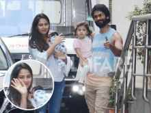 Shahid, Mira, Misha and Zain Kapoor clicked together for the first time
