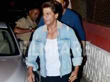 Spotted! Shah Rukh Khan snapped at a dubbing studio