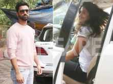 Vicky Kaushal steps out with his alleged girlfriend Harleen Sethi