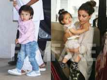 Cuties Taimur Ali Khan and Inaaya Naumi Kemmu enjoy their play date