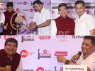 Subodh Bhave at the Jio Filmfare Awards (Marathi) 2018 press conference