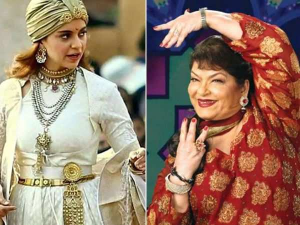Kangana Ranaut to work with Saroj Khan for a song in Manikarnika