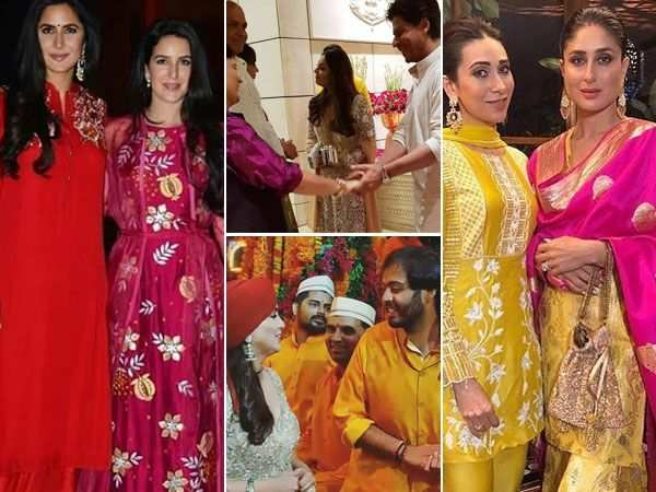 Inside pictures of celebs and the décor from Ambani's Ganesh Chaturthi bash
