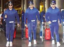 Ranbir Kapoor back in Mumbai after spending time in London