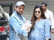 Photos! Parents Neil Nitin Mukesh and Rukmini welcome daughter Nurvi home
