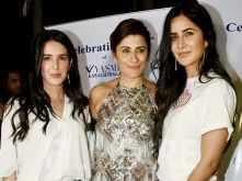 Stunning sisters Katrina Kaif & Isabelle Kaif party with Yasmin Karachiwala