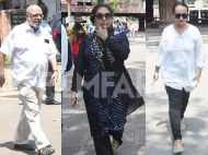 Shabana Azmi, Soni Razdan pay their last respects to Kalpana Lajmi