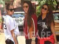 Malaika Arora, Kareena Kapoor Khan and Amrita Arora sweat it out together