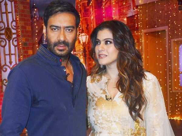 Kajol gets miffed with Ajay Devgn