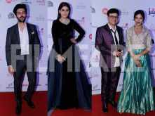Kartik Aaryan, Saiyami Kher, Sonali Kulkarni and Sachin Pilgaonkar shine at the red carpet at the Jio Filmfare Awards (Marathi) 2018