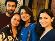 Neetu Kapoor posts a picture with Alia Bhatt and Ranbir Kapoor