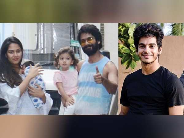 Uncle Ishaan Khatter can't stop gushing over baby Zain Kapoor