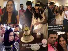 Videos and Pictures! All that happened at Neha Dhupia's baby shower