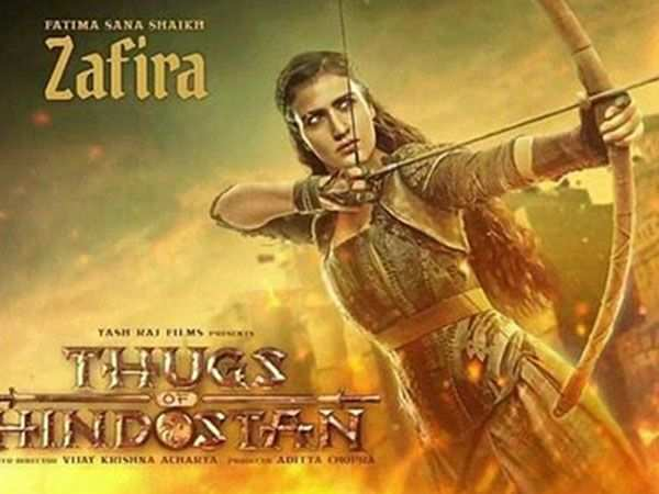 Fatima Sana Shaikh looks fierce in the latest poster of Thugs of Hindostan