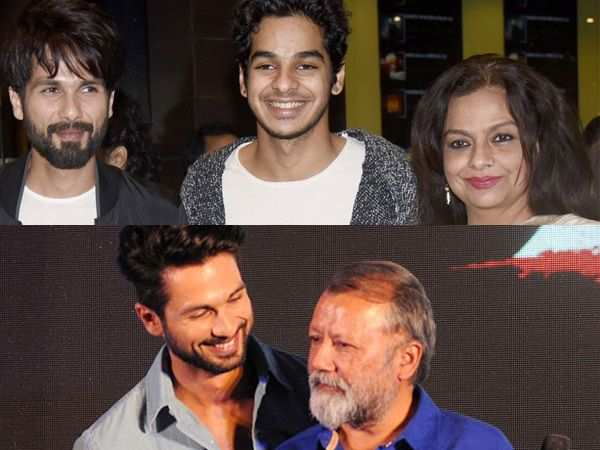 Shahid Kapoor's parents talk about the birth of his second child