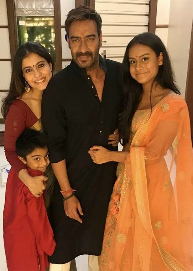 10 family pictures of Ajay