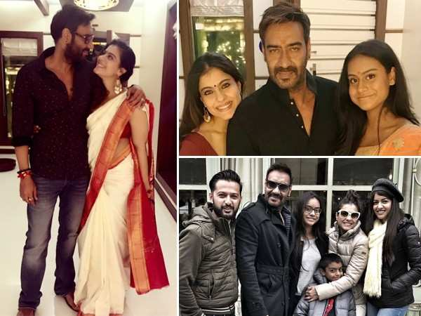 10 lovable family pictures of birthday star Ajay Devgn