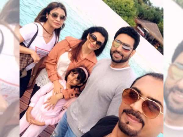 Holiday pictures! The Bachchans are having a gala time in the Maldives