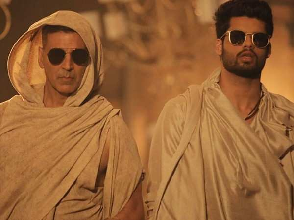 Akshay Kumar shoots for a song with Karan Kapadia for his debut film