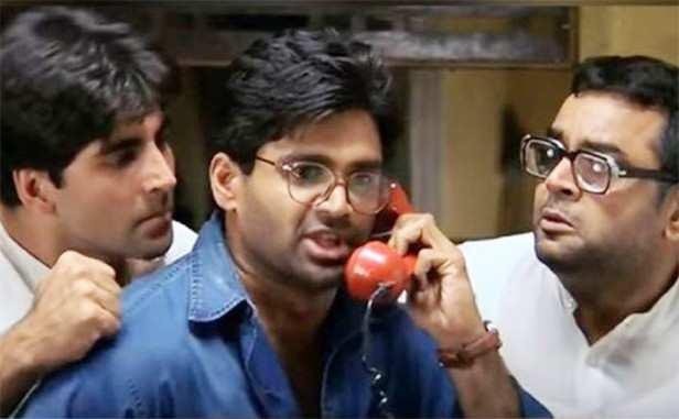 Akshay Kumar, Suneil Shetty and Paresh Rawal, Hera Pheri 3