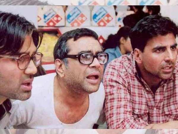 Akshay Kumar, Suneil Shetty and Paresh Rawal to reunite for Hera Pheri 3