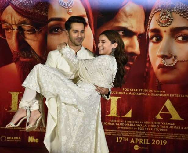 Alia Bhatt and Varun Dhawan open up about working with each other