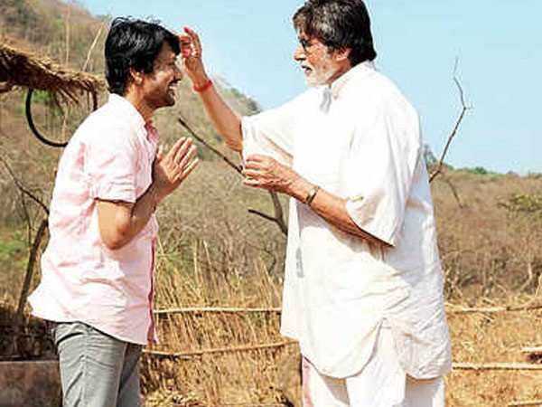 Amitabh Bachchan shoots for his Hindi-Tamil bilingual film