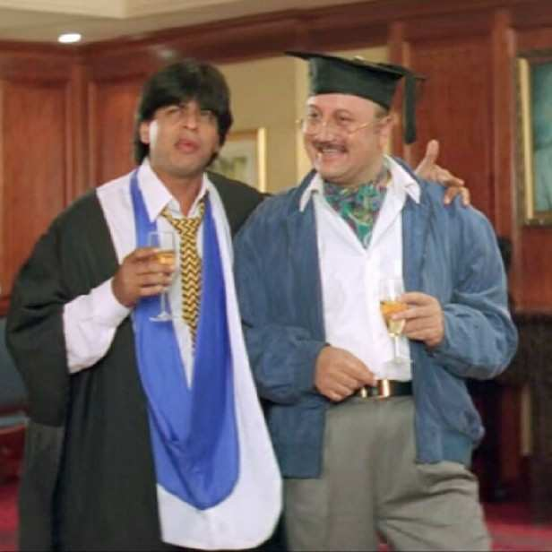 Check out Shah Rukh Khan's lovely message for Anupam Kher