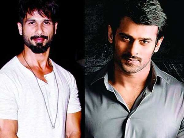 Prabhas is extremely impressed by Shahid Kapoor